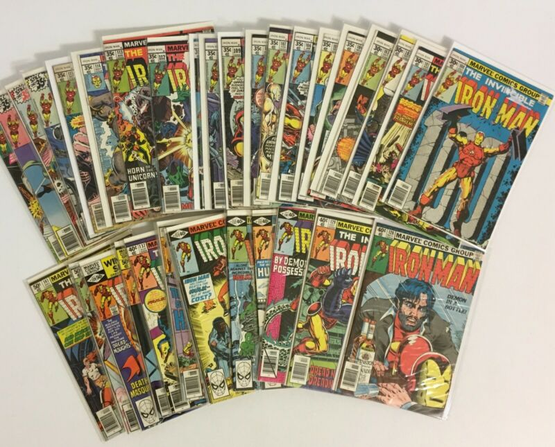 Iron Man #100-332 and Annuals #1-15 Complete Run/Series 1970-1996