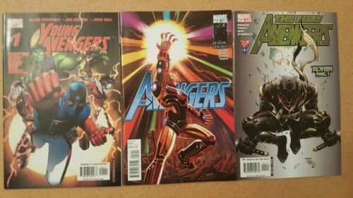 Young Avengers#1, New Avengers# 11 and Avengers Vol. 4 #12
