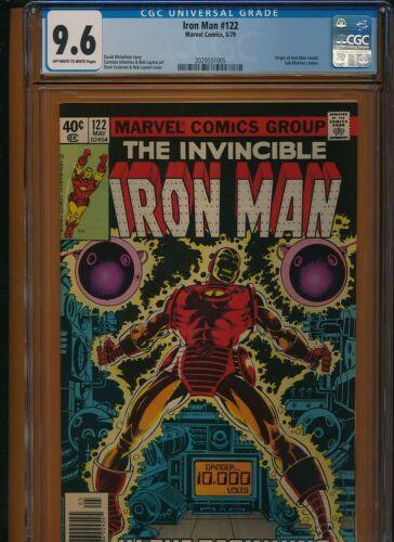 Iron Man # 122 CGC NM 9.6 Cockrum and Layton cover
