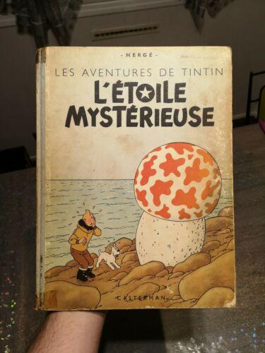 Tintin L Étoile Mystérieuse B1 1946