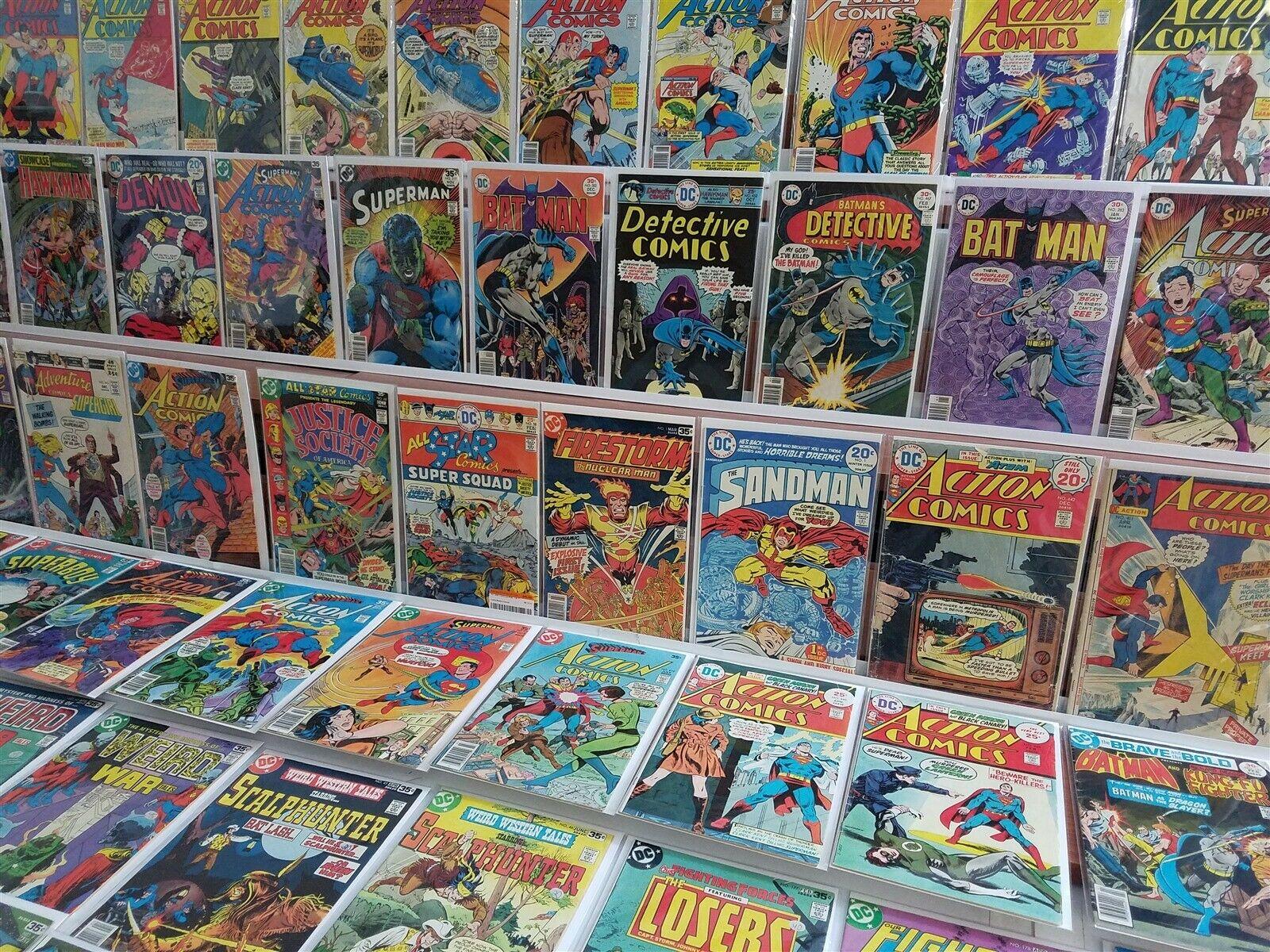200+ All DC Bronze Lot All Star Comics 58 Power Girl Firestorm 1 Neal Adams