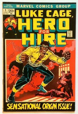 Luke Cage, Hero for Hire #1 KEY Bronze Age Issue (Marvel 1972) FN+ condition.
