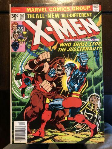 Uncanny X-men #102, 105, 106, 108, 110  high grade 5 books lot