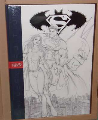 "Superman/Batman Michael Turner Gallery/Artist's Edition HC 12""x17""  Wonder Woman"