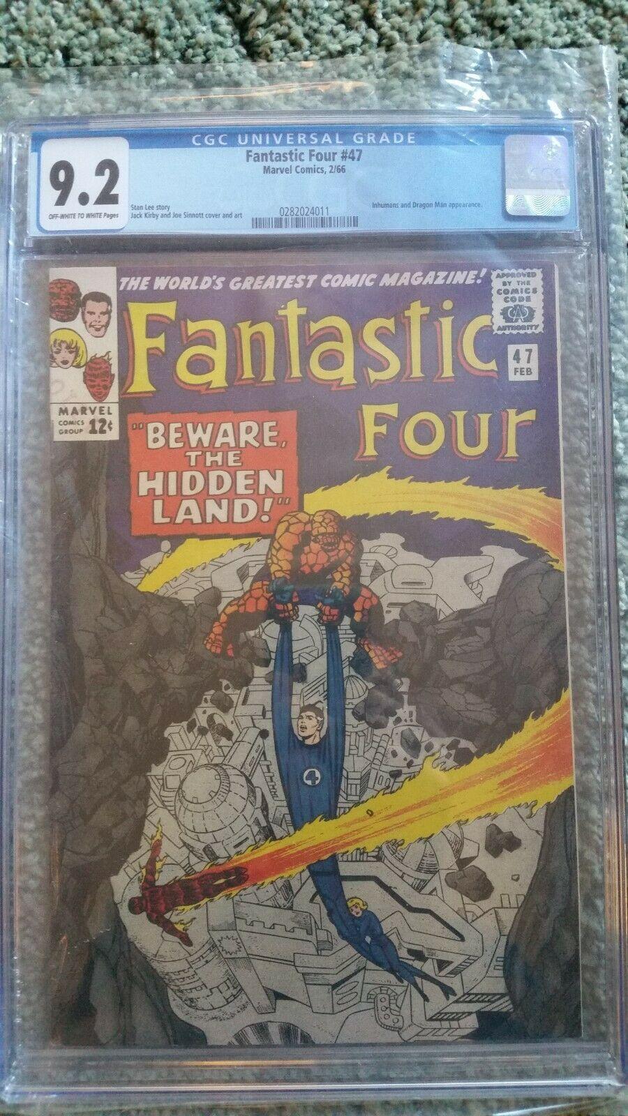 Fantastic Four 47 CGC 9.2 (First app Maximus)