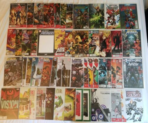 Avengers 1 Hawkeye 1 Secret Avengers 23 Vision 1 2 3 Dark Avengers 1 + Lot of 54