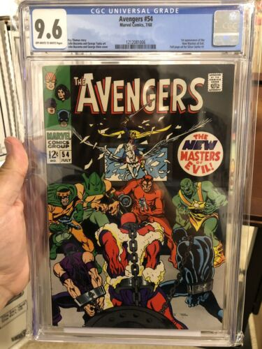 The Avengers #54 CGC 9.6, #55 CGC 9.0 Lot