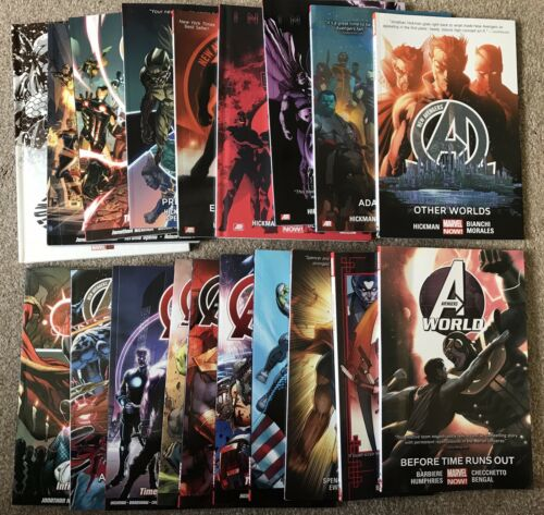 Marvel's Avengers: Graphic Novel Collection (New Avengers, Avengers World, Etc)