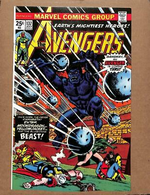 Avengers # 137 - NEAR MINT 9.6 NM - Captain America Iron Man MARVEL Comics