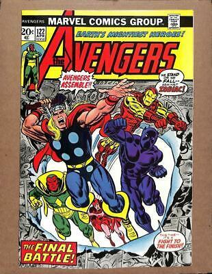 Avengers # 122 - NEAR MINT 9.6 NM - Captain America Iron Man MARVEL Comics