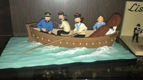 Tintin Fariboles La Chaloupe