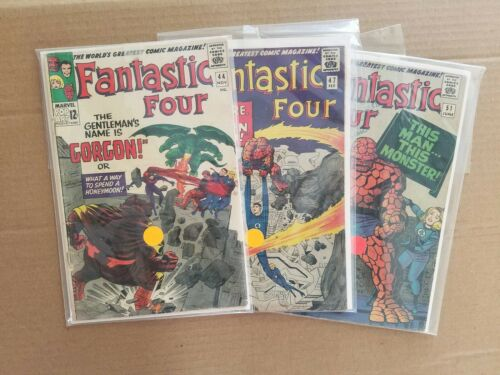 Fantastic Four 44  First Gorgon Appearance fantastic four 47,fantastic four 51