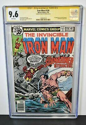 Iron Man #120 1979 CGC Grade 9.6 Signature Series Signed by Bob Layton