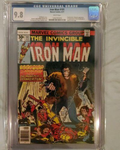 CGC 9.8 Iron-Man #101 Frankenstein Dreadknight