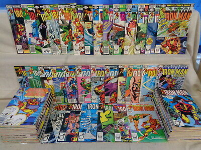 Iron Man 151-300 (miss.#282, 286), Ann 6-14, SET Marvel Comics (b 21698)