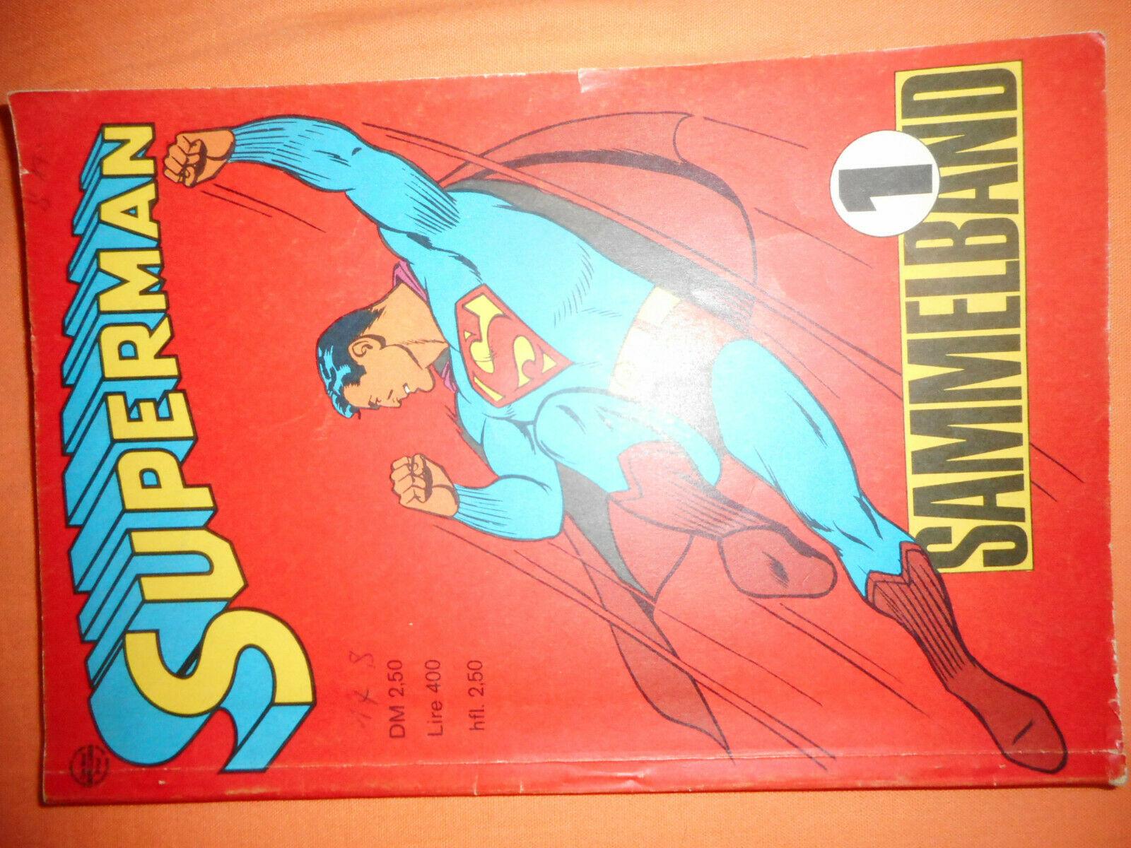 Superman Sammelband Nr. 1 - 1967 - Ehapa Verlag - Z2