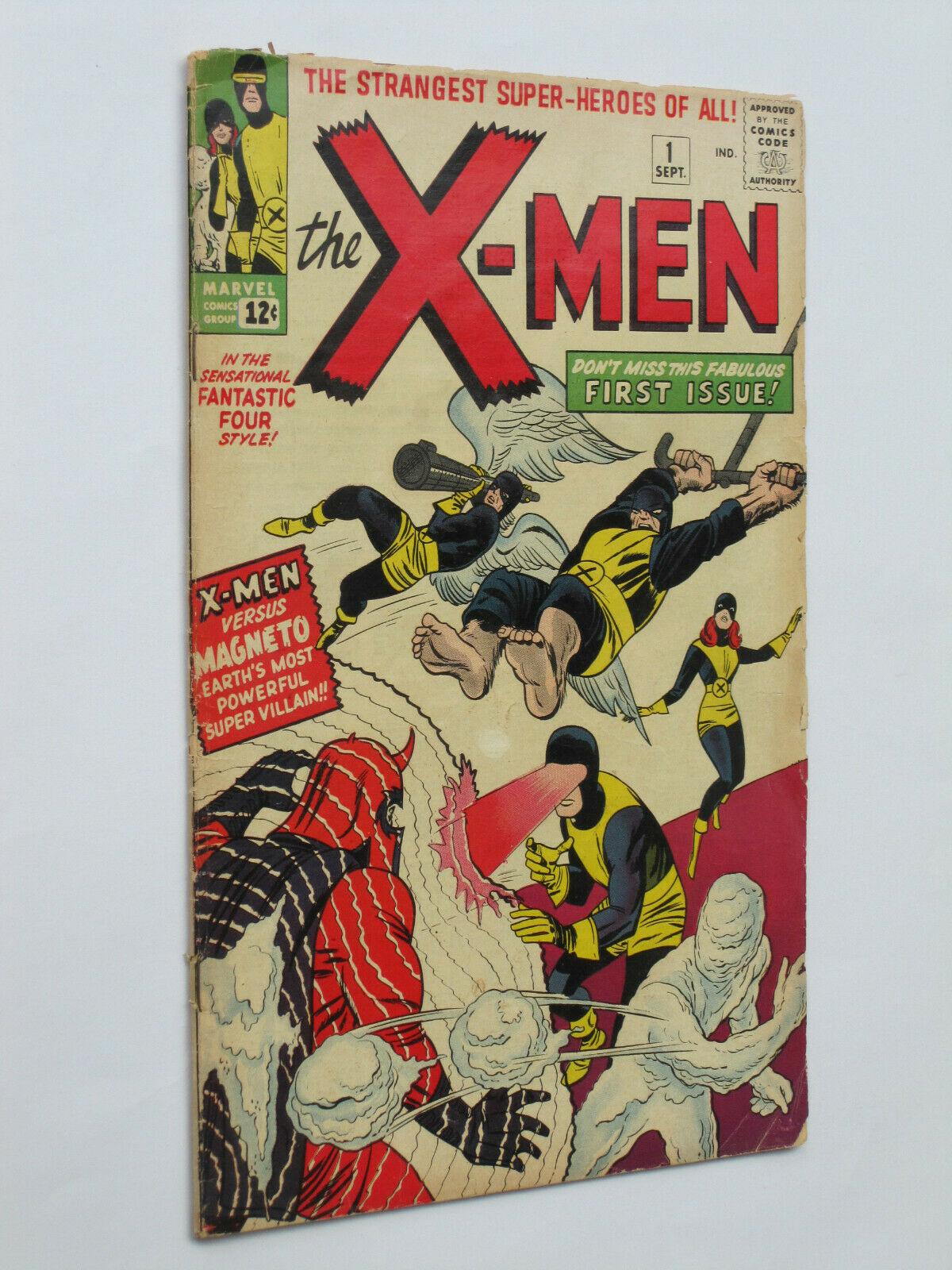 X-MEN #  1  US MARVEL 1963  origin/1st app 1st Magneto  VG/VG-