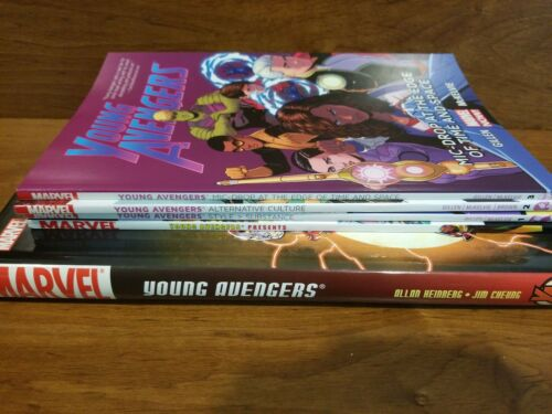 Marvel TPB lot Young Avengers/Young Avengers Marvel Now/Young Avengers Presents