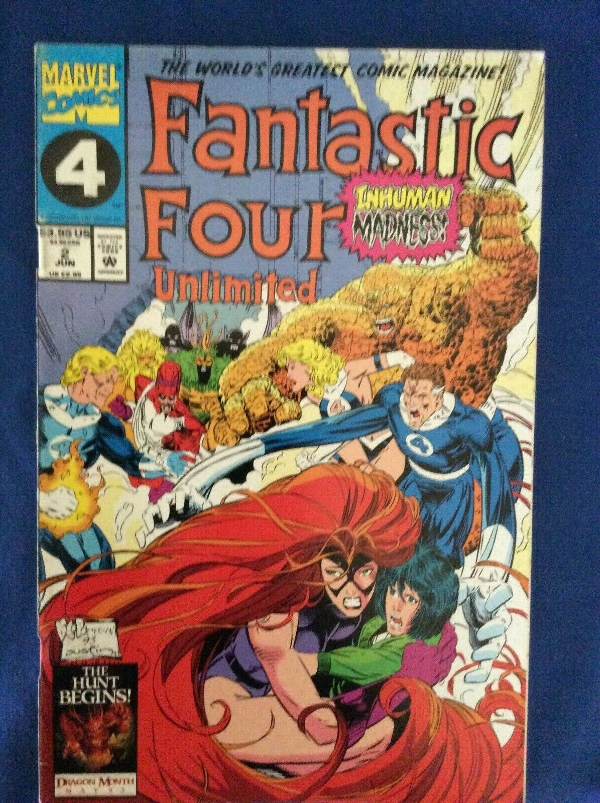 Fantastic Four Unlimited - 9 issues - Marvel Comics 1993