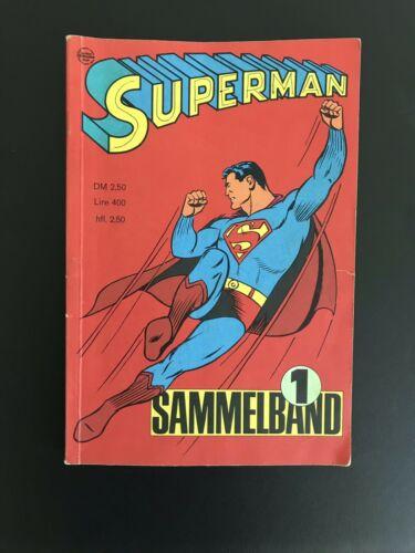 Superman Sammelband #1 - Original RARITÄT- Ehapa Hefte 1-4 [1996]