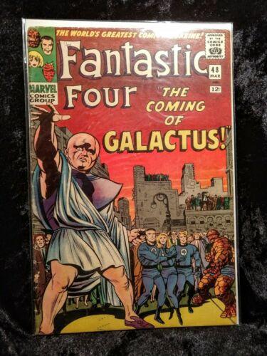 FANTASTIC FOUR #48 (Vol. 1) 1ST APP SILVER SURFER & GALACTUS March 1966 VG 4.0