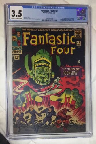 Fantastic four 49 3.5 CGC first app of Galactus See my FF 48,50-Saveonshipping