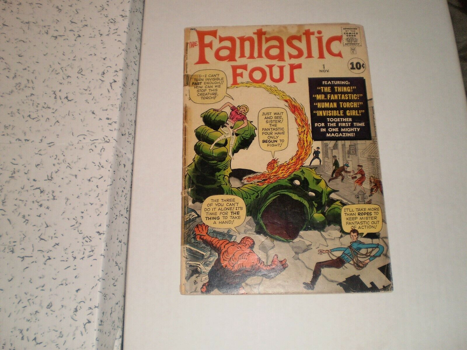1961 Fantastic Four #1  1.5 The Fantastic Four and Mole Man 1st App