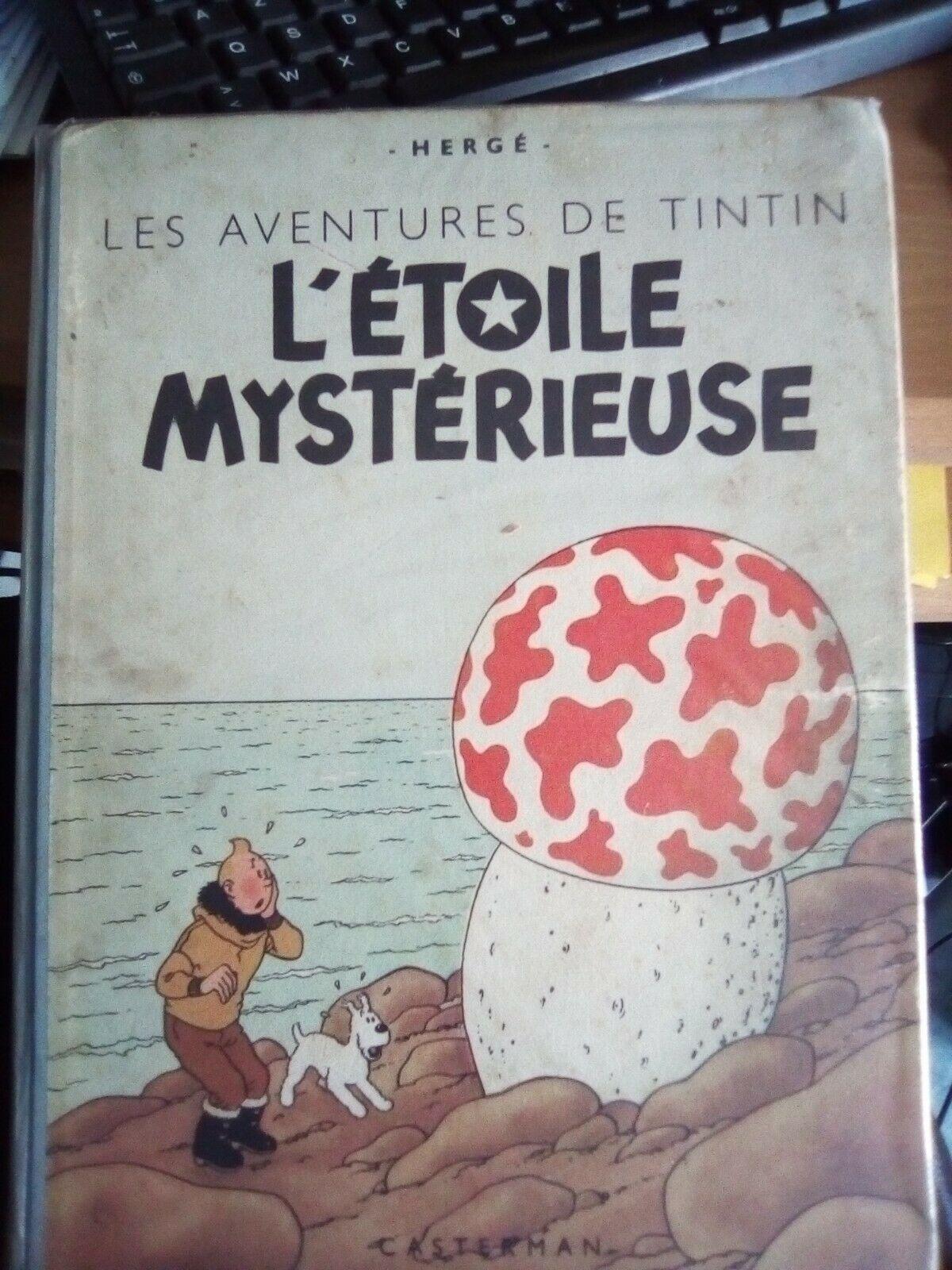 BD Tintin l'étoile mystérieuse B1 1946
