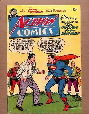 Action Comics # 194 - - DC Comics 1954 - Superman The Outlaws of Krypton DC