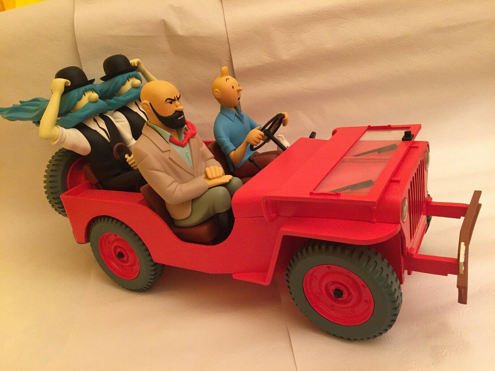 superbe rarissime tintin jeep st emett no aroutcheff no leblon no fariboles