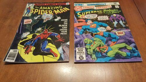 MARVEL COMICS AMAZING SPIDERMAN #194,DC COMICS SUPERMAN #27
