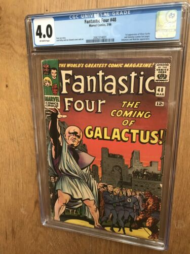 Fantastic Four #48 1st App of First Silver Surfer Galactus Marvel Age Comic CGC