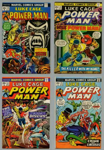 LUKE CAGE POWER MAN IRON FIST LOT OF 46 COMICS #19-122 VF+