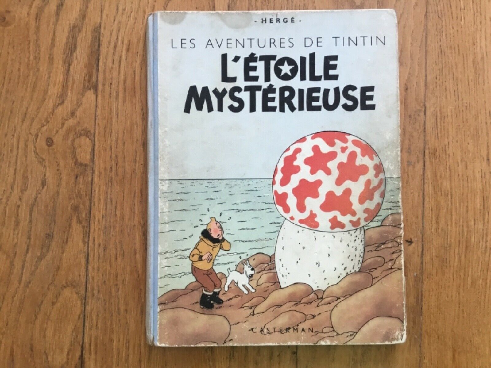 TINTIN - L'étoile Mystérieuse - Edition B1 -1946  - BE - Hergé
