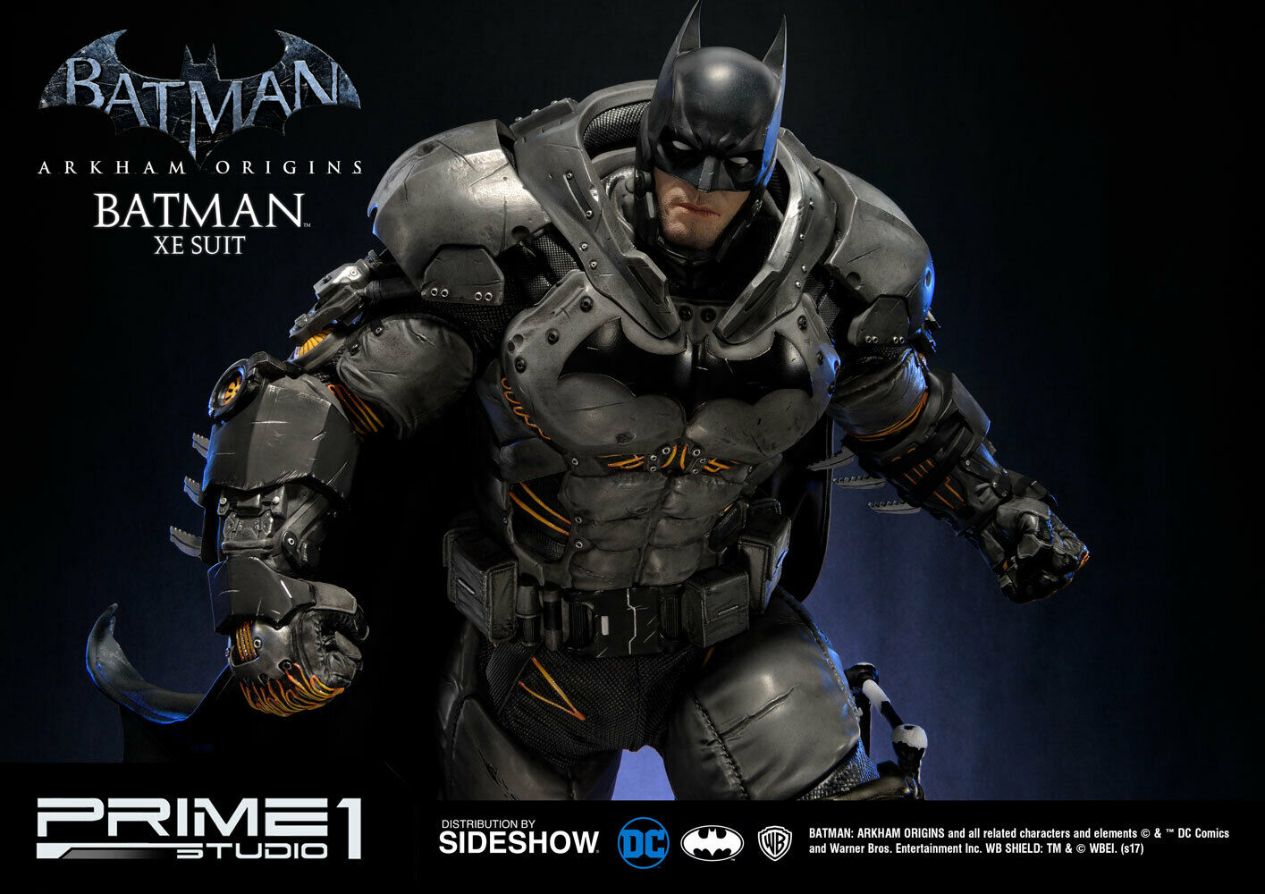 Prime 1 Studio DC Batman Arkham Origins BATMAN XE Suit EXCLUSIVE Statue #120/500