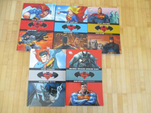 Batman Superman Sammelband 1,2,3,4,5  komplett  Panini 2006