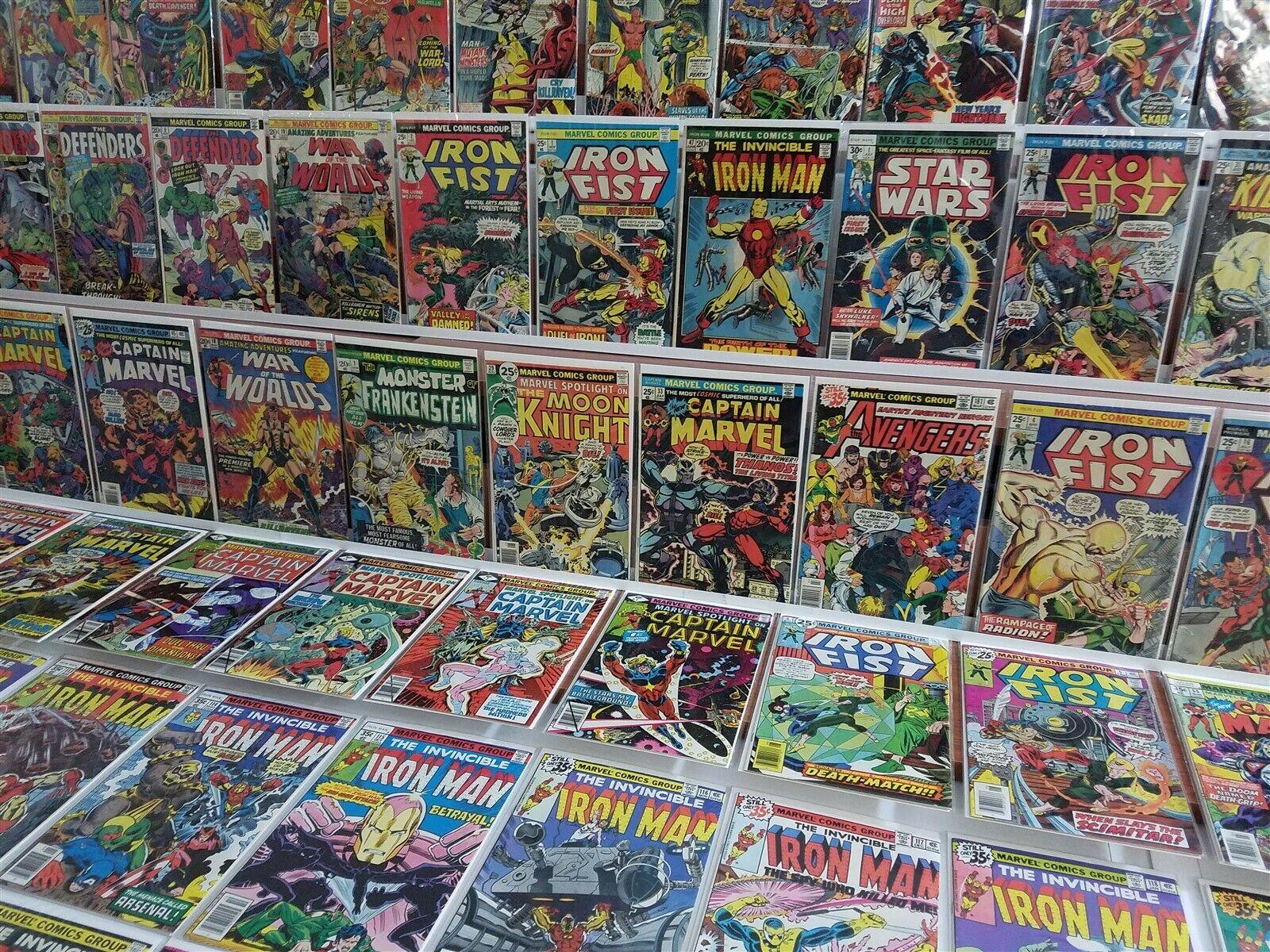 100 All HI GRADE Marvel Bronze Lot Captain 33 Spotlight 29 Moon Knight Iron Man