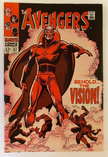 The Avengers #57 Marvel Comics 1968 1st Vision Appearance VF Classic Cover