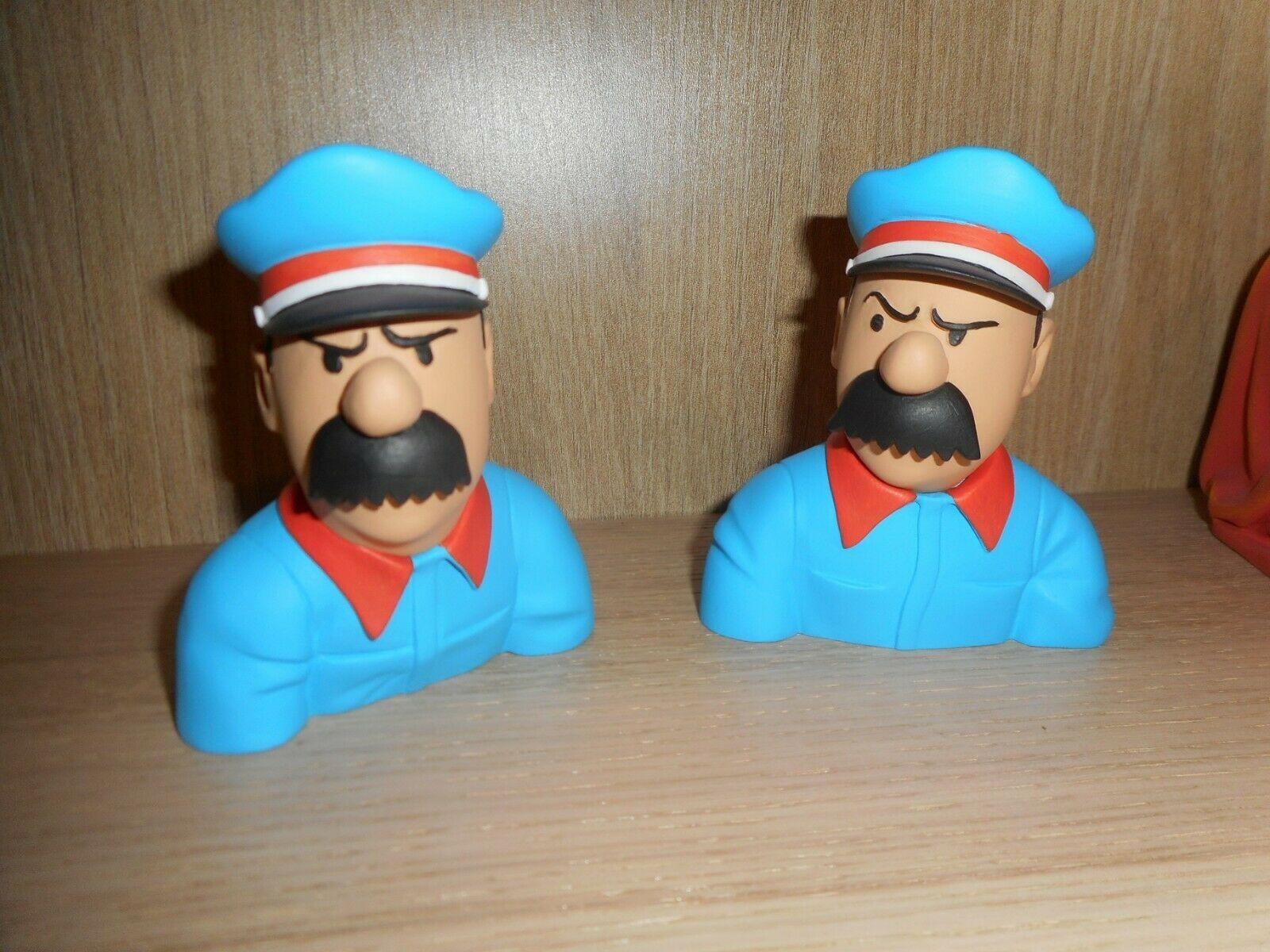 Buste Tintin Dupond et Dupont No Pixi Aroutcheff Leblon Delienne
