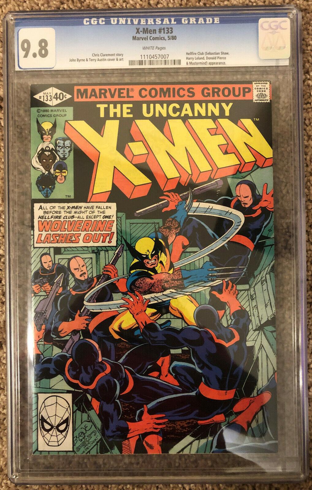 Uncanny X-Men (1st Series) #133 1980 CGC 9.8 1110457007