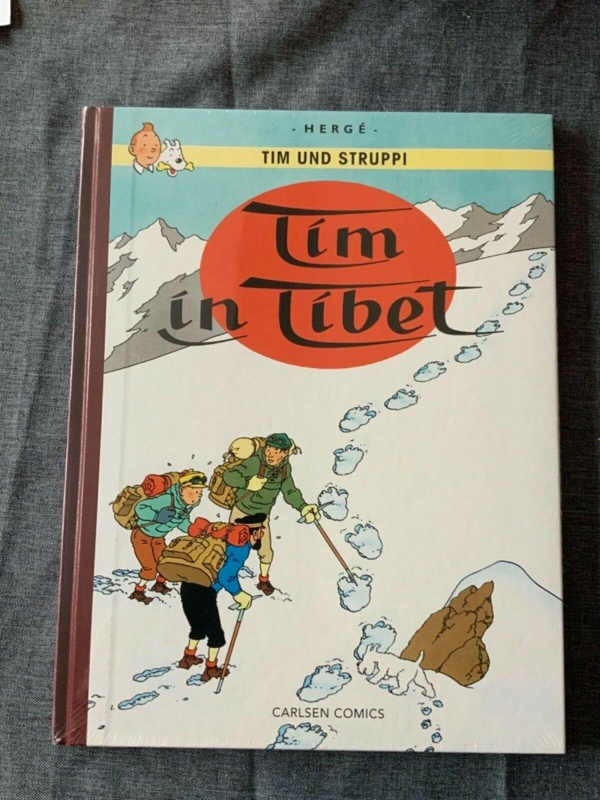 Tim und Struppi Farbfaksimile 19 Tim in Tibet G. Remi Herge Tintin Ligne claire