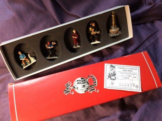 TINTIN in Tibet Pixi-Mini figures set