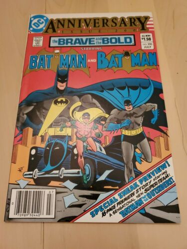 Brave and the Bold Batman #200 (1983) DC 1st Appearance KATANA Outsiders