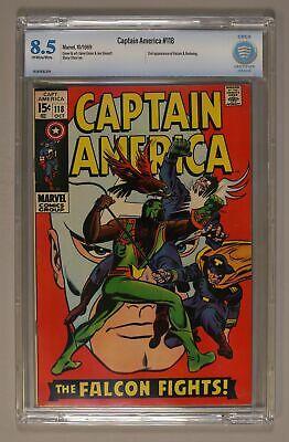 Captain America #118 CBCS 8.5 1969