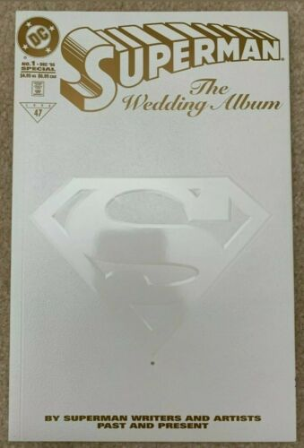 DC SUPERMAN THE WEDDING ALBUM #1 RRP Limited Gold Edition #73 of 250 RARE 1996