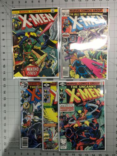 UNCANNY X- MEN 84,110,119,125,133
