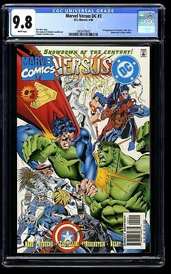 Marvel Versus DC #3 CGC NM/M 9.8 White Pages
