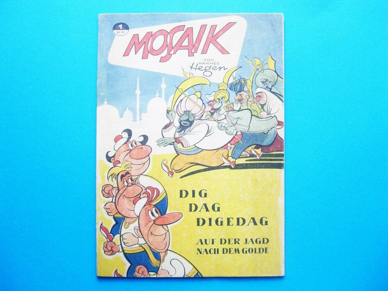 Mosaik Sammlung Nr. 1 bis 229 und alle Beilagen TOP Original, kein Reprint