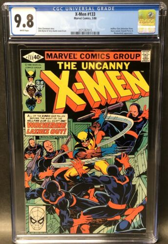 UNCANNY X-MEN 133 CGC 9.8 NM/MT WHITE PAGE DIRECT EDITION WOLVERINE '80 BYRNE