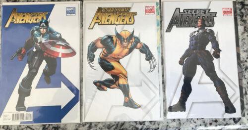 New Avengers #1 Gatefold New Avengers 1 Secret Avengers 1 Variant
